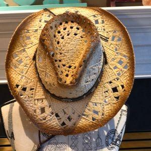 Cowboy Hat with Drawstring